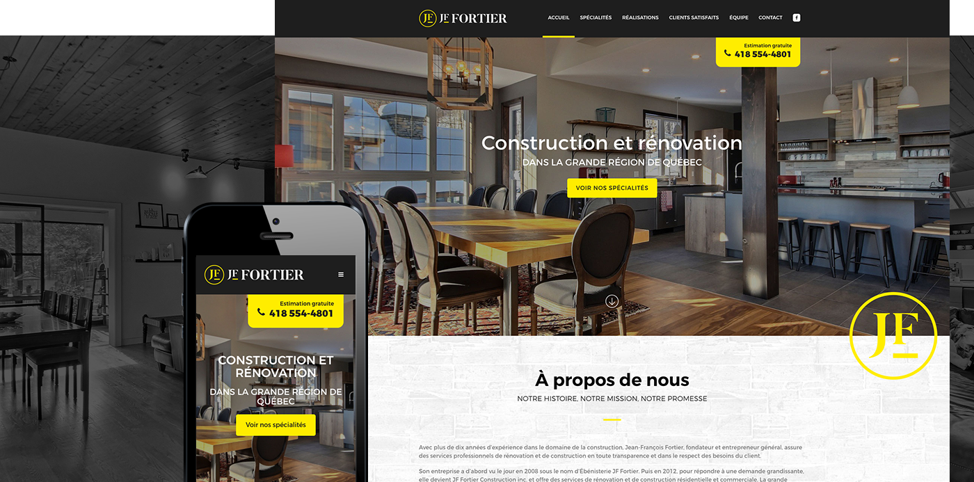 JF Fortier Construction