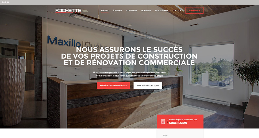 Construction Rochette